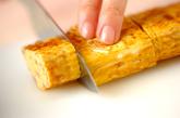 ナメタケ入り卵焼きの作り方3