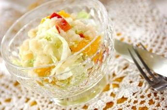 白菜のリンゴドレッシング