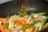 ジャガイモとインゲンのカレー風味の作り方2