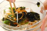 ワカメとモヤシの中華風和えの作り方2