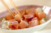 漬けブリ納豆風の作り方2