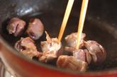 砂肝のコリコリ炒めの作り方1