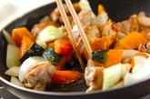 鶏肉の簡単コーンクリーム炒め煮の作り方2