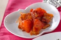 ベーコンとトマトの炒め物