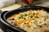 白菜とカキのカレーグラタンの作り方5