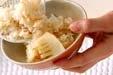タケノコご飯の作り方2