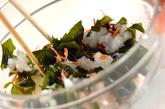 桜エビのおろし和えの作り方1