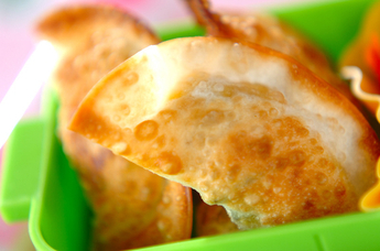 カボチャの煮物餃子