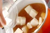 卵白のとろみスープの作り方1
