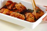 揚げ鶏のネギソースの作り方3