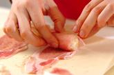 エノキ豚肉のレンジ蒸しの作り方1