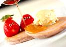 イチゴのホットケーキの作り方4