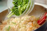 クリームエビマヨ炒めの作り方3