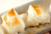 お餅の甘じょうゆ焼きの作り方1