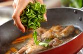 小松菜の洋風煮浸しの作り方3