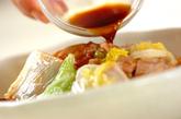 白菜と豚バラ肉の蒸し煮の作り方3
