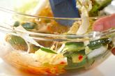 キュウリのピリ辛酢の物の作り方1