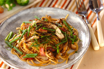 キノコスパゲティー