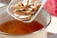 シイタケのお吸い物の作り方1