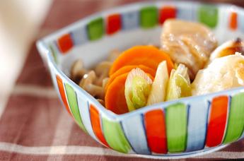 鶏と餅の治部煮