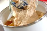 キムチ入り粕汁の作り方3