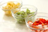 ココナッツミルクと米粉のプリン・季節のフルーツのマチェドニアソースの作り方3
