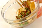 揚げジャガ納豆和えの作り方2