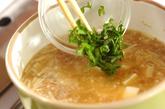 エノキ入り納豆汁の作り方2