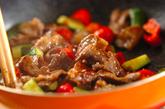 キュウリと牛肉のソース炒めの作り方3