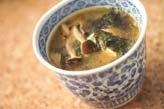 豆腐のゴマ風味みそ汁