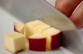 もちもちサツマイモご飯の下準備1
