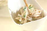 ボイルゴボウのサラダの作り方2