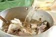 鯛アラのスープの作り方1