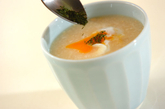 冷やしトロロ汁の作り方1