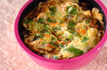 アサリの佃煮丼