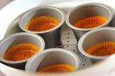 オレンジココアの蒸しケーキの作り方3