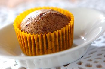 オレンジココアの蒸しケーキ