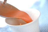 トマトの冷スープの作り方2