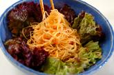 ピリ辛素麺サラダの作り方2