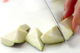マーボーカレーナス豆腐の作り方1
