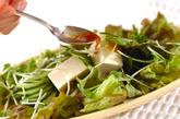 ジャコ豆腐サラダの作り方2