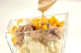 カリフラワーの生サラダの作り方1