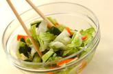 野菜の即席漬けの作り方3