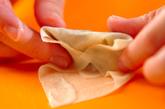キノコのクリーム春巻きの作り方3