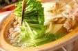 豚肉とキノコのお鍋の作り方2