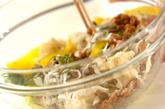 切干し大根と納豆の和え物の作り方1