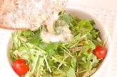 ミツバのジャコサラダの作り方3
