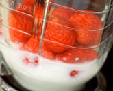 イチゴジュースの作り方1