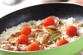 アサリとトマトの焼き飯の作り方4