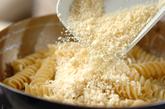 いろいろチーズのショートパスタの作り方4
